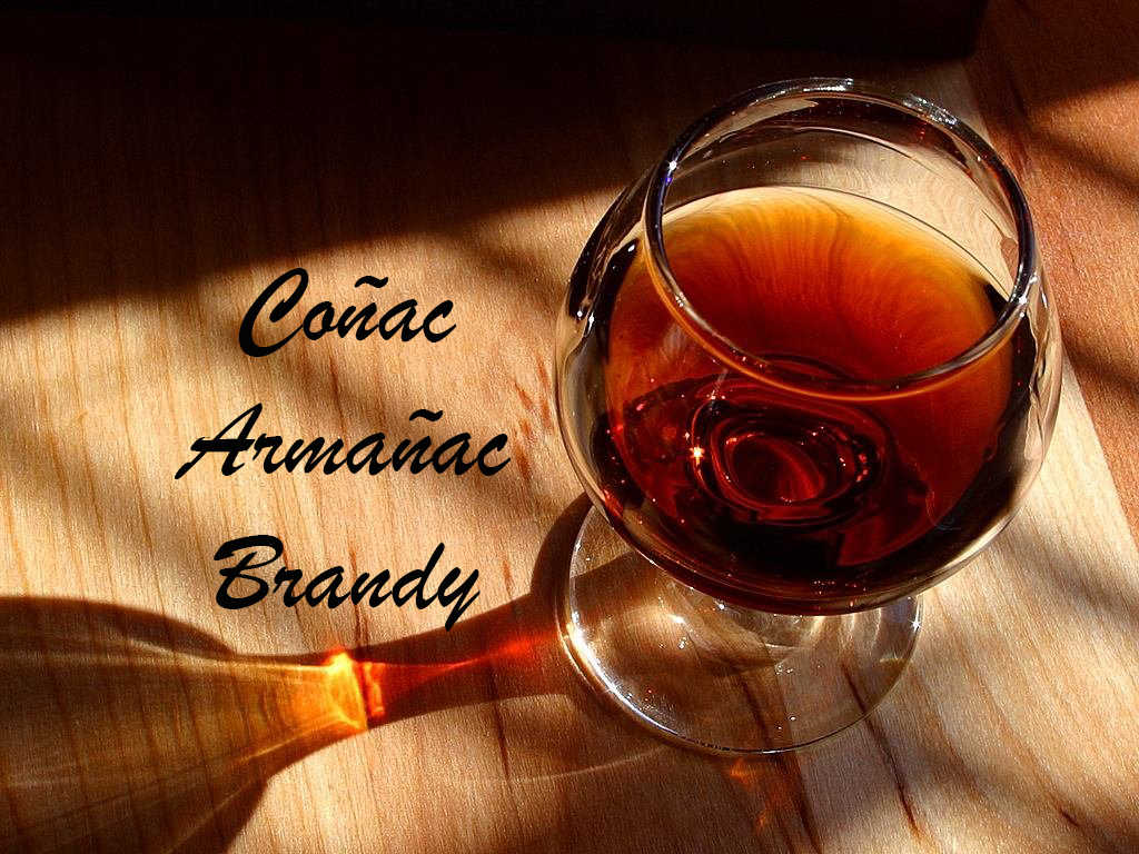 Coñac Armañac Brandy