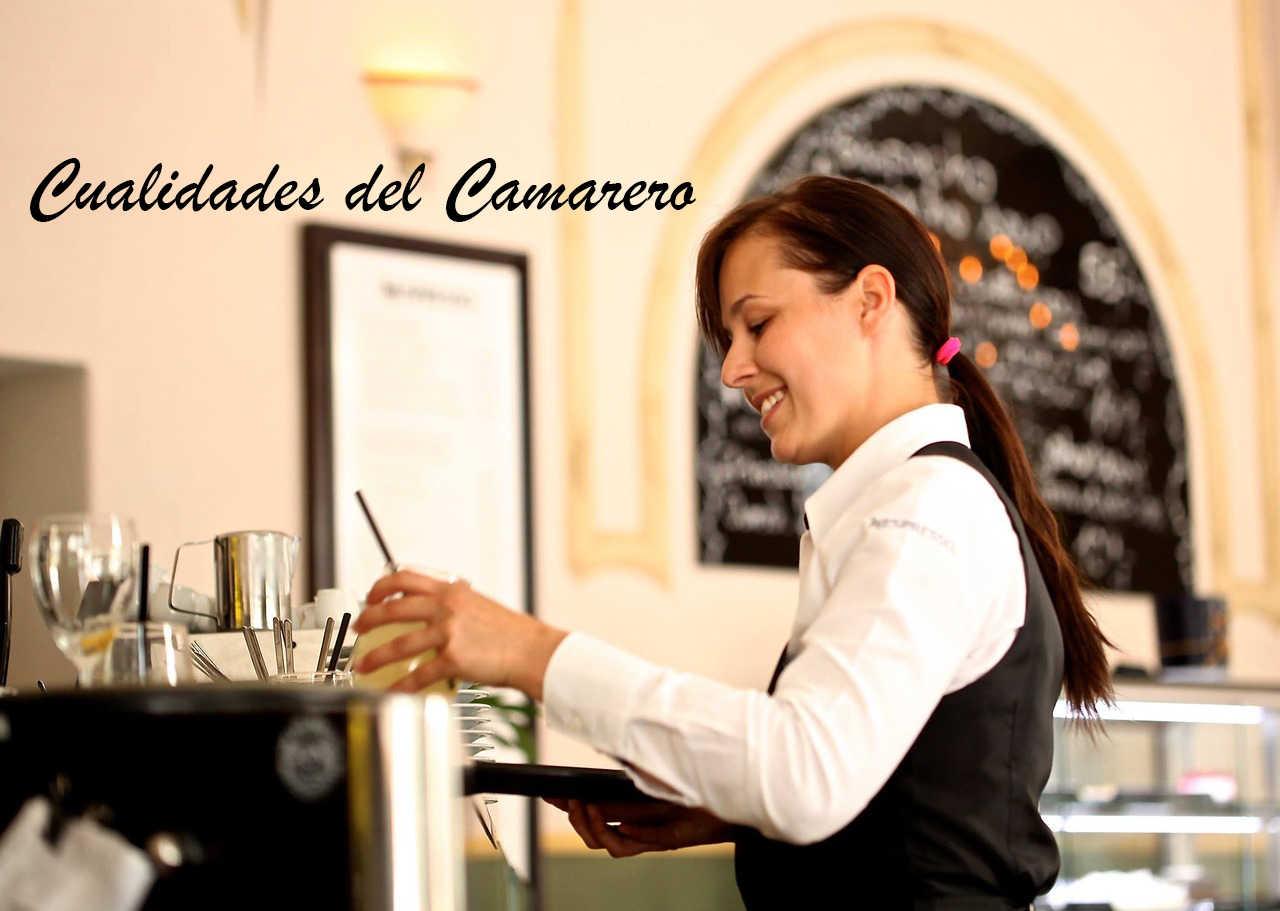 cualidades del camarero