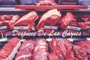 despiece de las carnes