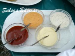 salsas basicas