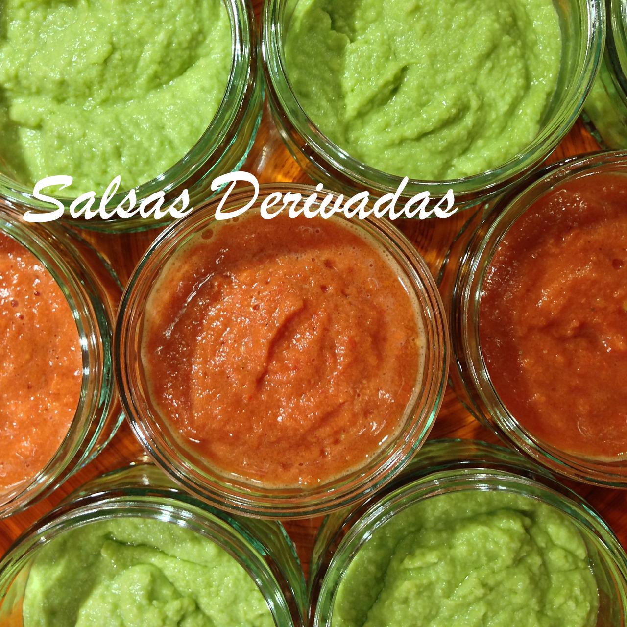 salsas derivadas